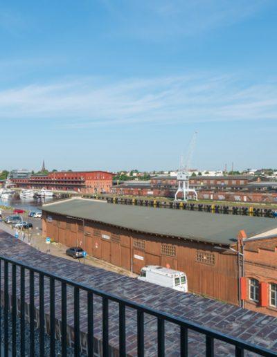 400 Meter vom Haus - Blick vom Hansemuseum
